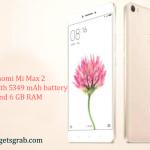 Xiaomi Mi Max 2 launch