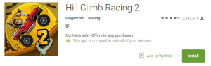 download Hill Climb Racing 2 for android