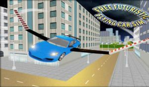 Futuristic Flying Car Simulator