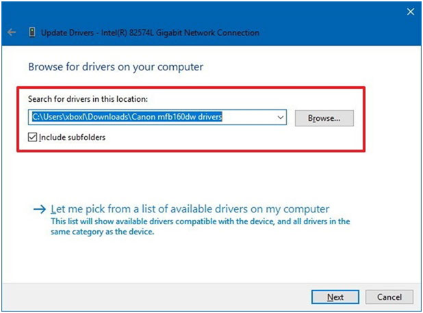 how to update win 10 device drivers