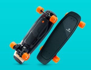 boosted mini skateboard
