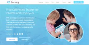 cocospy digital parenting app